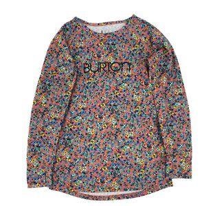 BURTON Dry Ride Floral Base Layer Shirt